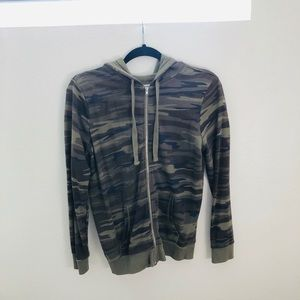 Grayson Threads Camo Zip up Hoodie